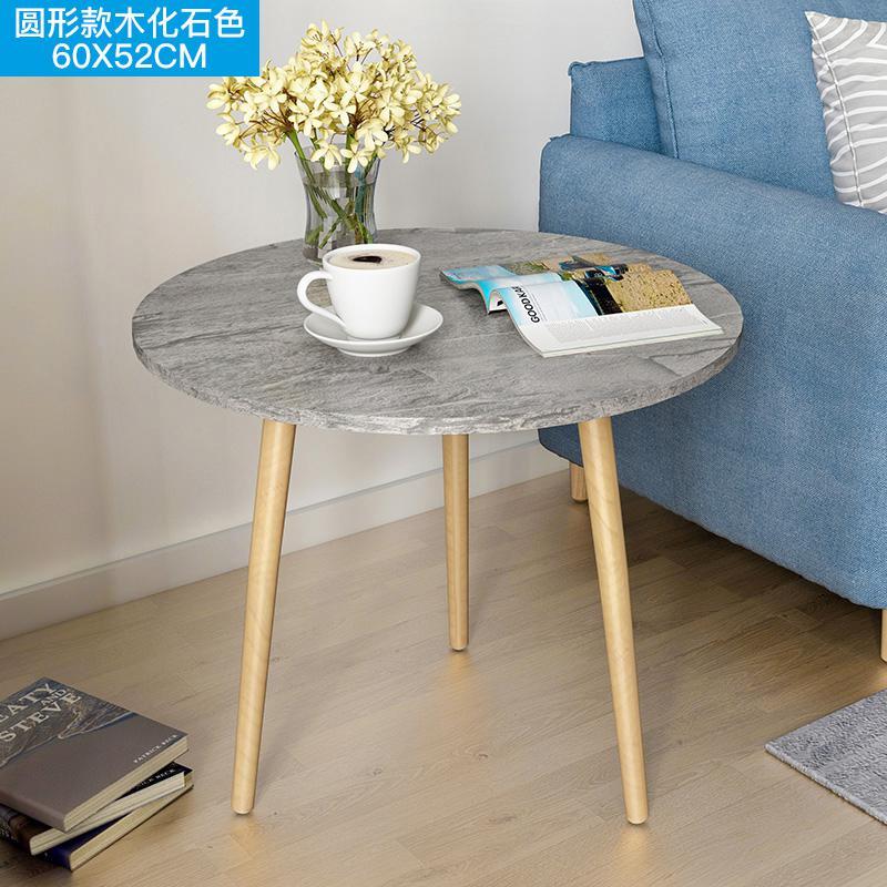 Скандинавский журнальный столик для гостиной, современный минималистичный чайный столик из твердой древесины, многофункциональный чайный столик - Цвет: Style 16