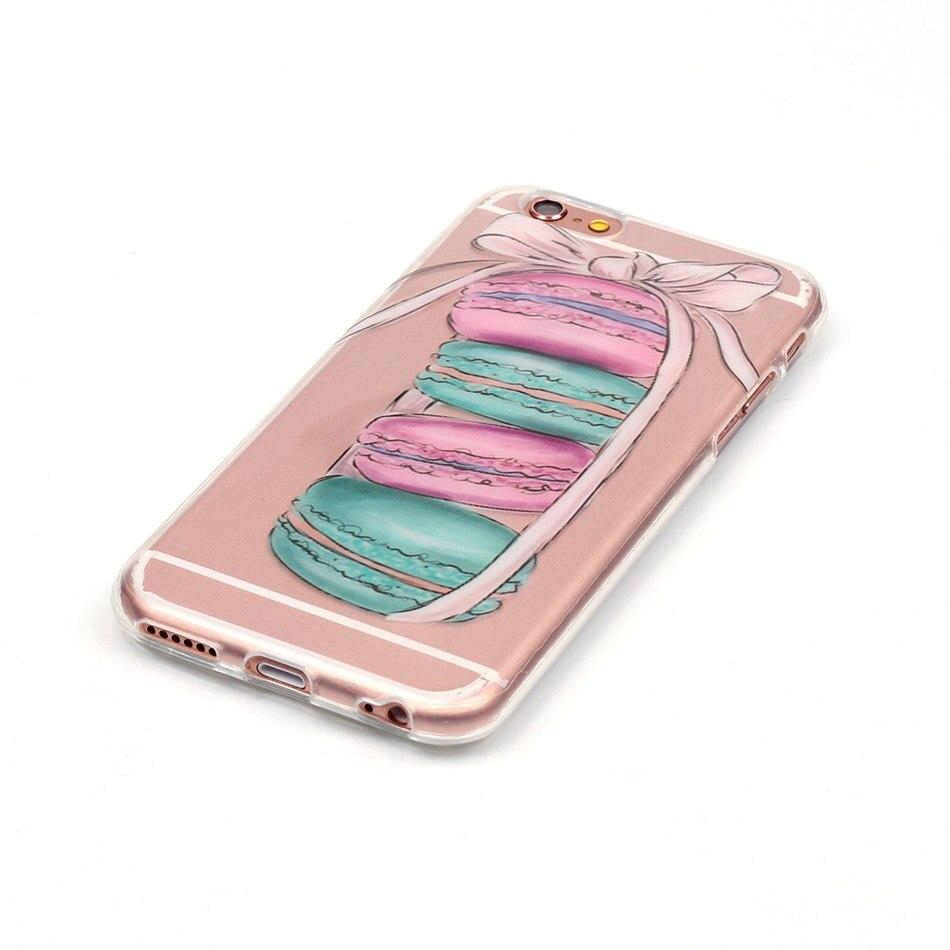 B67 Роскошные Вернуться мягкий силиконовый чехол для телефона iphone 8 7 Plus 5 5S SE Touch 6 Чехол полное покрытие для Wiko Радуга Варенье 4 г В виде ракушки...