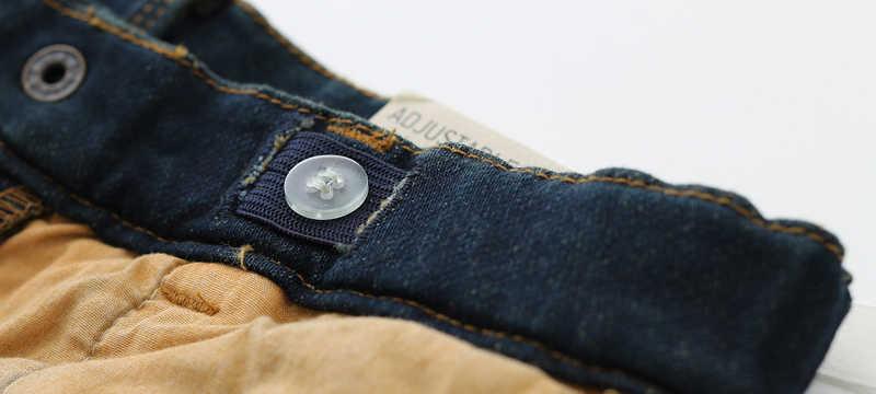 Модная одежда для малышей, брендовый джинсовый свитер для маленьких мальчиков, джинсы для маленьких мальчиков, модные ковбойские штаны для малышей, верхняя одежда, 6 месяцев, 4 года
