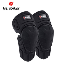 HEROBIKER Motorcycle Riding Knee Protector Bicycle Cycling Bike Racing Tactical Skate Protective Gear Extreme Sports Knee Pads