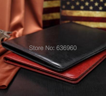 New hot A4 PU folder with calculator multifunction  folders sales manager folder contract signing folder free shipping manager folders with 4000mah mobile power multifunction cument holder manager holders office supply work accessories