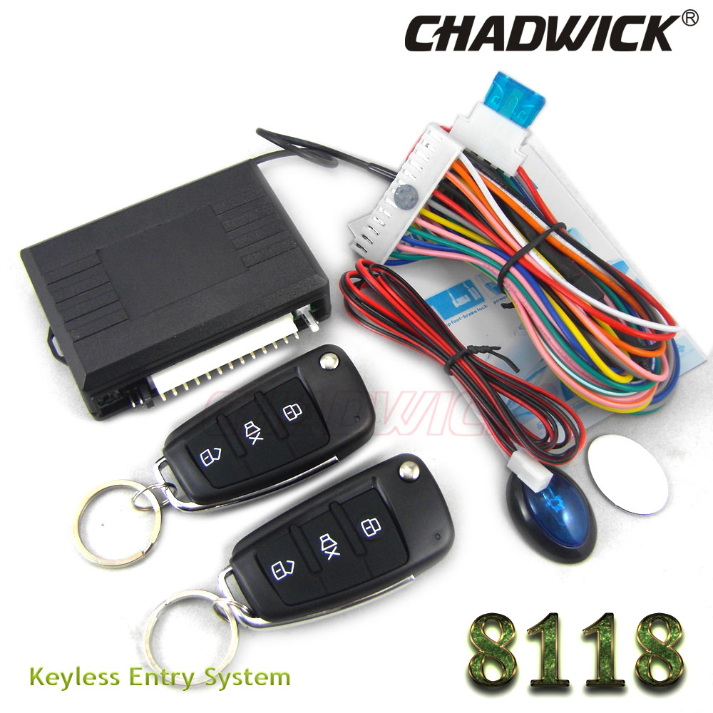 Flip key Keyless Entry For <font><b>Peugeot</b></font> 307 <font><b>308</b></font> Car Remote Central Door Lock Vehicle locking CHADWICK 8118 fold key with groove new image