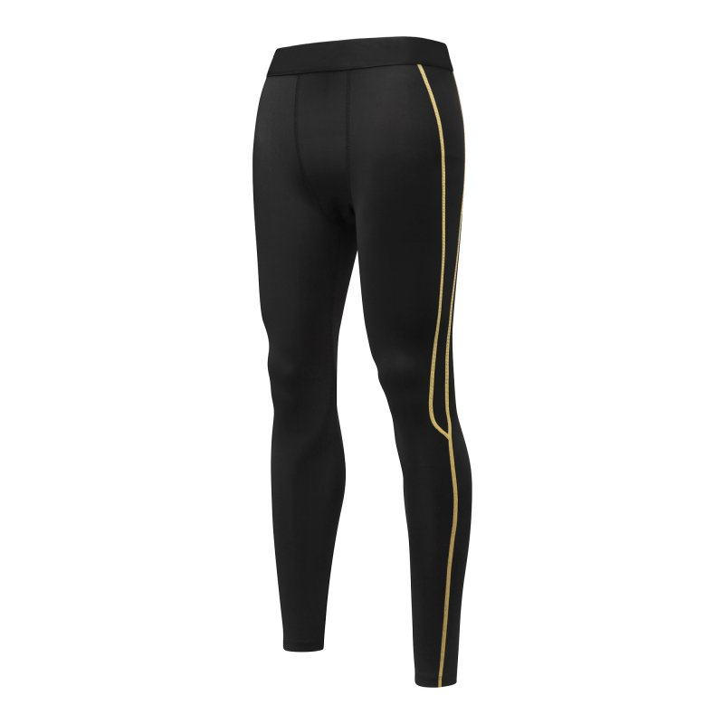 Men Athletic Compression Base Running Pants Skinny Stretchy Long Trousers Tight Inner Leggings Tight LM43