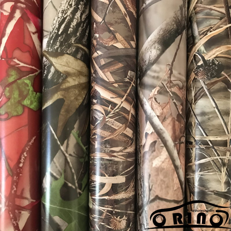 Shadow Gras Vinyl Film ORINO Realtree Auto Wrap Film Met Luchtbel Gratis Camouflage Voertuig Auto Motor Full Wrapping Folie - 2