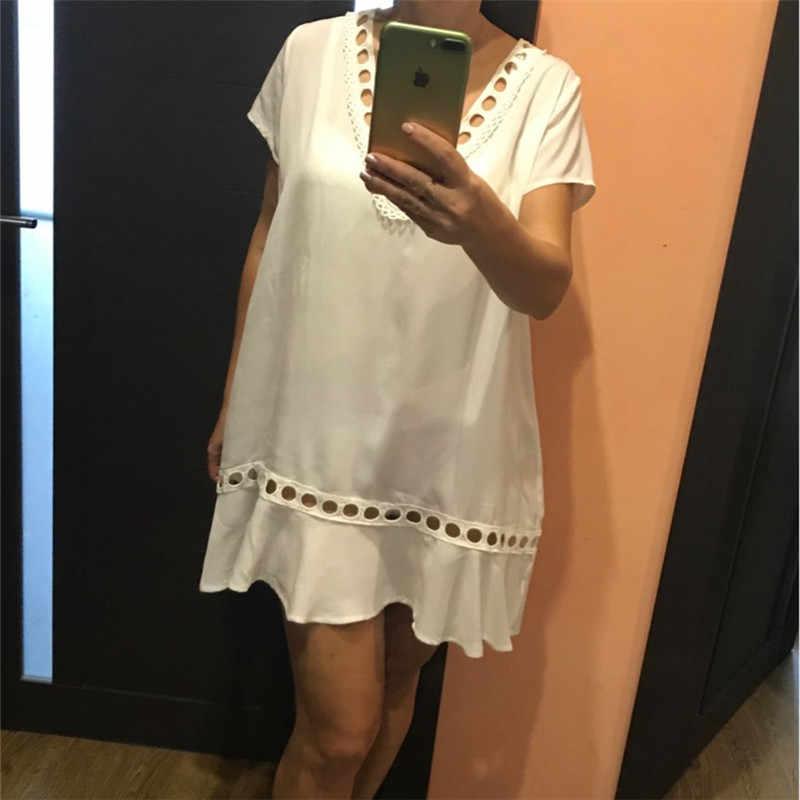 42e6730f02b6c ... Greek Style Cotton Tunics for Beach Women Swimsuit Cover up Swimwear  Cover up Beachwear Pareo Beach