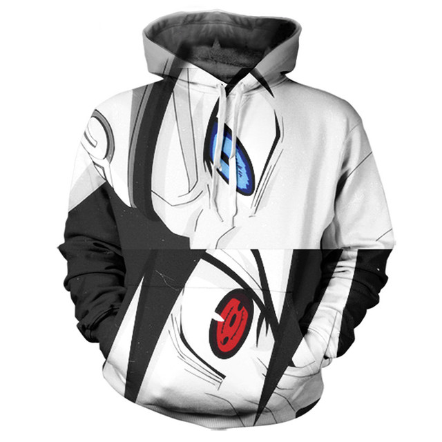 naruto 3D Hoodie Custom made Clothing