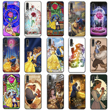Beauty Beast Rose Princess Art cute hard Soft Silicone Phone Case for huawei honor 8x 10 20 10 lite 20 pro(China)