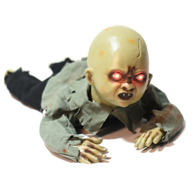 Halloween Zombie Baby Prop.Us 41 97 Halloween Crawling Baby Zombie Prop Animated Horror Haunted House Party Decor In Party Diy Decorations From Home Garden On Aliexpress Com