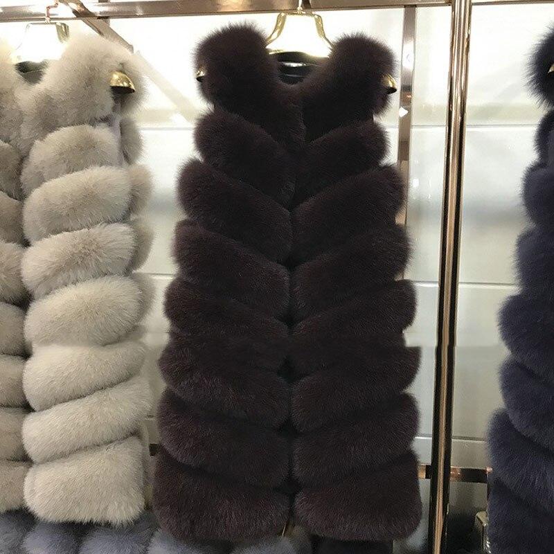 Manteau Veste Animale Pour Réel Des De Fourrure Court New Hiver Renard Femmes Animal Naturel Jkp Manteaux FZqwaUczx