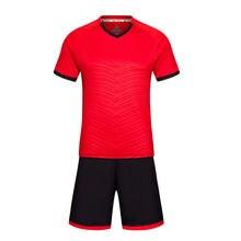 cb9d377982c Professional Customize Adult kids Breathable Soccer Set Soccer Jerseys  Uniforms Children Football Kit Shirt Tracksuit 2017 2018