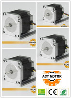 free to RU 6 lead 4axis cnc Nema 23 2A 56mm 180oz in hybrid stepper motor CE,ROSH