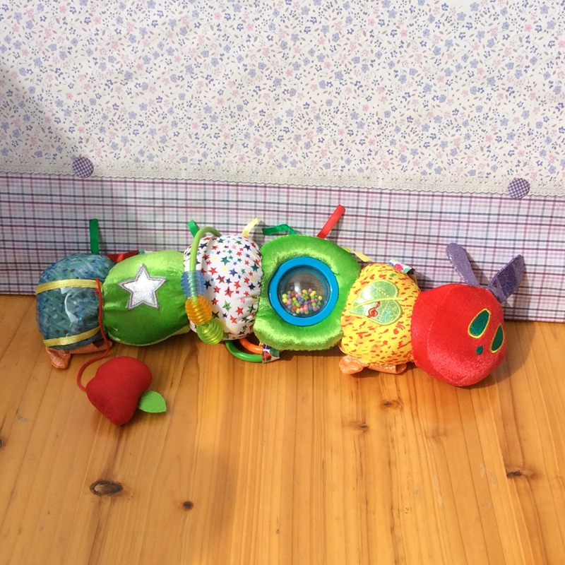 The Very Hungry Caterpillar Eric Carle Kids Gift  Plush Toy Doll Baby Kids Toys Birthday Gift High Quality