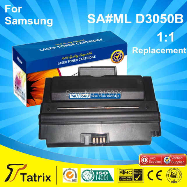 ФОТО For Samsung ML3050B Black toner cartridge with Chip MLD3050B Laser Toner Compatible for Samsung ML-3050/3051N/3051ND