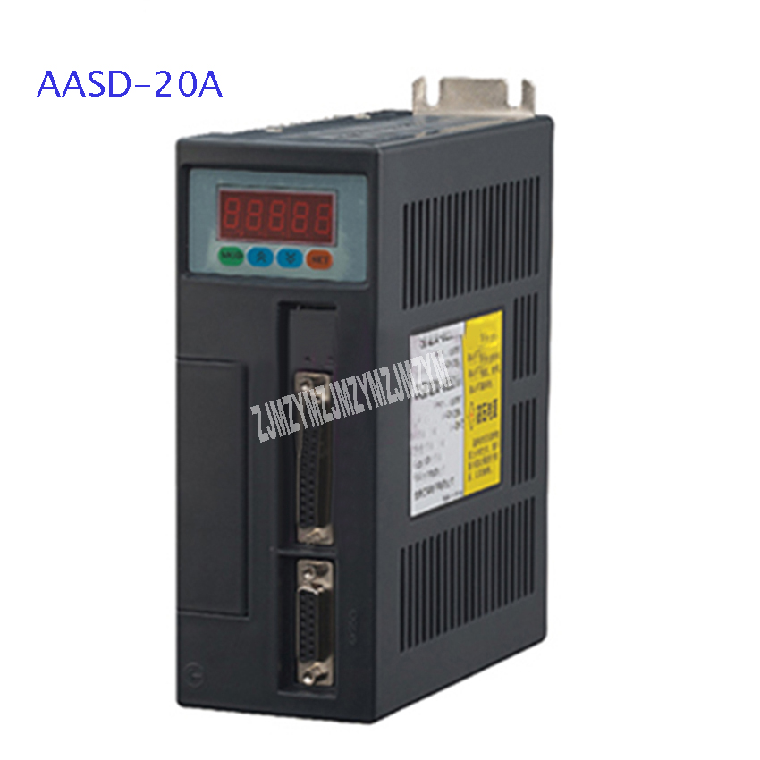 New AASD-20A Servo Driver High-quality AC Servo Motor Driver 1.5KW Input Voltage AC 220V Current 0-6.6A 0-3000rpm Hot Selling new leadshine high voltage 1000w ac servo system driver l5 1000 and motor acm8010m2h 51 b work 220vac can running 3000rpm 3 5nm