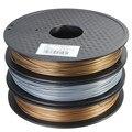 1 шт. Новый Металл Смешанные 3D Накаливания НОАК 1.75 мм 0.5 кг для RepRap 3D Принтер Материалы Трех цветов