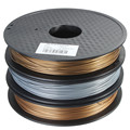 1pcs Brand New Metal PLA Blended 3D Filament 1.75mm 0.5kg for RepRap 3D Printer Materials Three colors