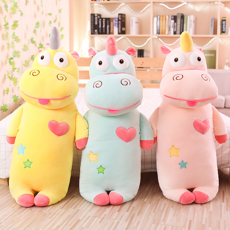 Hot New Cartoon Unicorn Plush Toys Stuffed Soft Plush Funny Unicorn Pillow Birthday Christmas Gifts Toys For Children Girls
