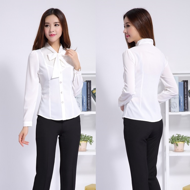 Ladies professional office uniform designs women business for Office uniform design 2015