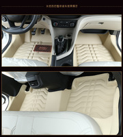 Myfmat CUSTOM Foot Car Floor Mats Leather Rugs Mat For Jeep Grand Cherokee Wrangler Commander Free