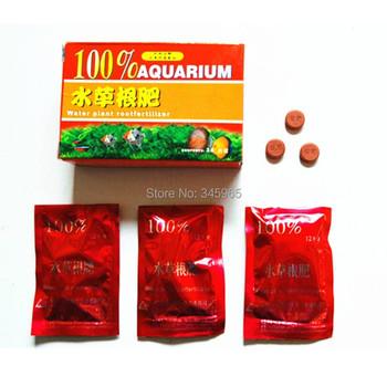 Darmowa wysyłka akwarium Fish Tank 36tab nawóz korzeniowy dla CO2 roślina wodna tanie i dobre opinie Nawozy azotowe Root Fertilizer Powolne Granulowane