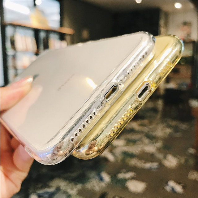 iPhone 7 Phone Case Clear Solid Candy Color For iPhone 11 Pro XS Max 6 6s 7 8 Plus X XR Soft TPU Silicone Back Cover 5
