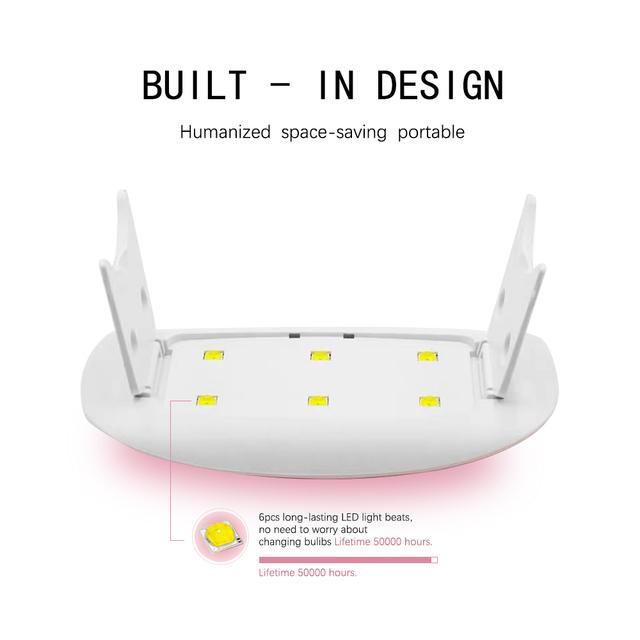 Nail Dryer Machine UV LED Lamp Portable
