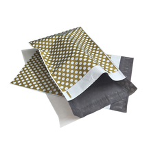 100PCS 10x13inch Poly Mailer 25x34cm 4colors Polka dot Pattern Self Seal Envelopes