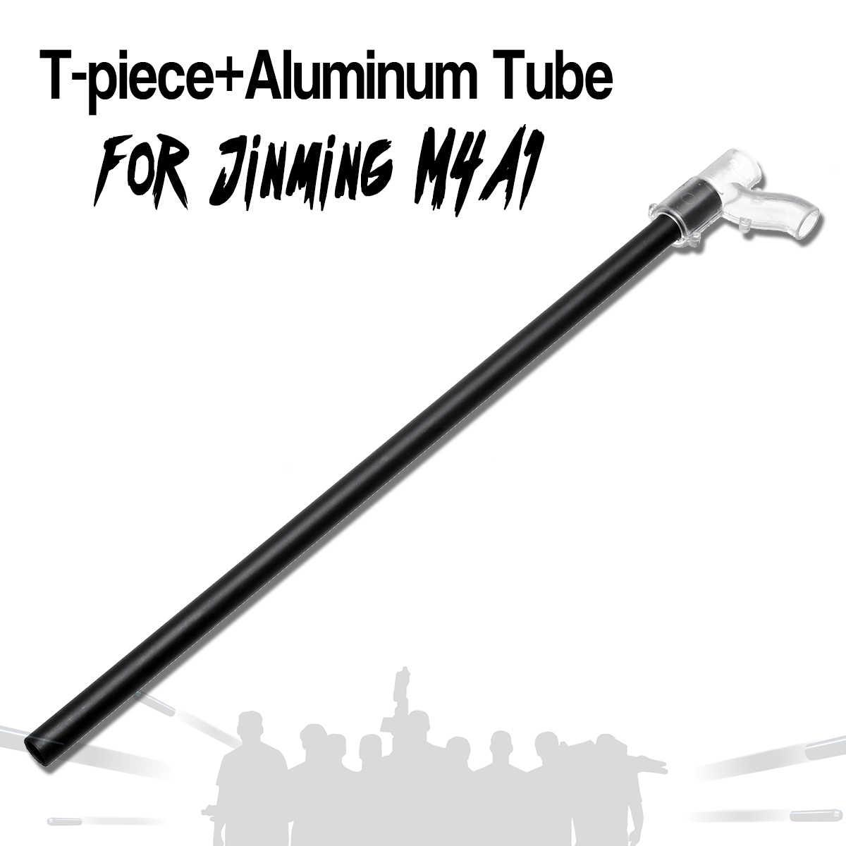 27.5 cm Upgrade Comp beczki do Jinming JM Gen8 M4A1 z T-żel piaskowanie wymiana akcesoria aluminium rury
