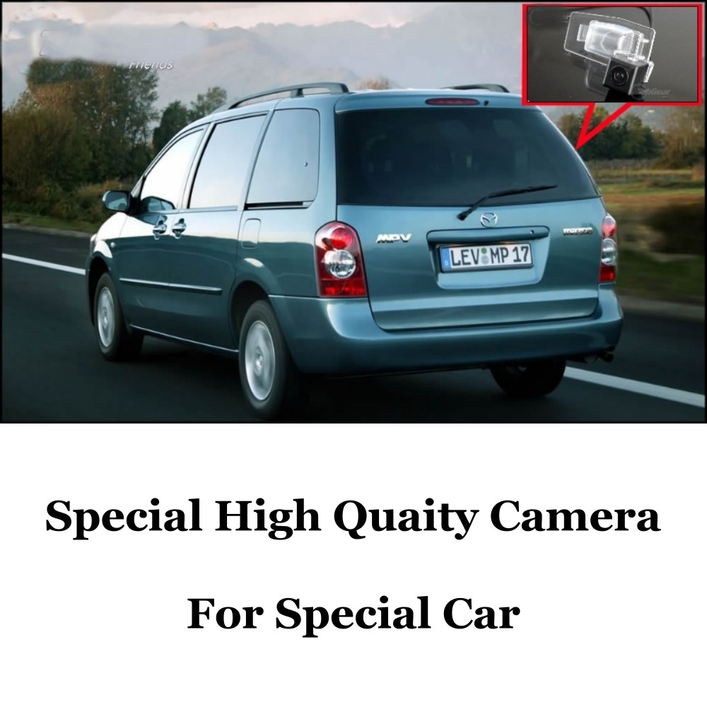 Car Camera For Mazda MPV 2000~2006 High Quality Rear View Back Up Camera For  CCD with RCA Car