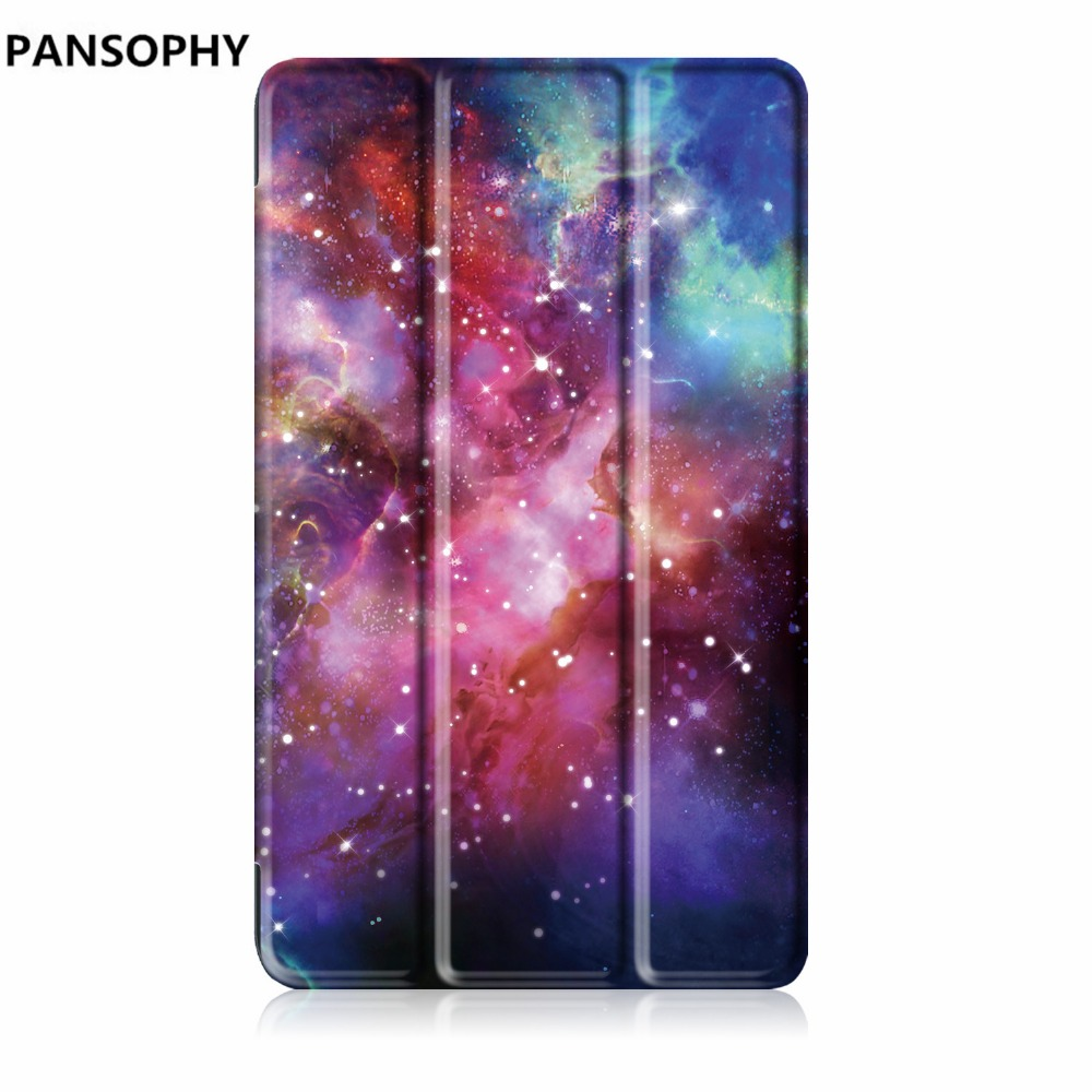 Tablet Case For Huawei Media Pad T3 7.0 Slim Folding PU Cover Stand Case Tablet PC Protective for huawei t3 7 inch new case for huawei media pad m2 lite ple 703l 7 cover pu leather flip folding case shell tablet pc cases stylus free shipping