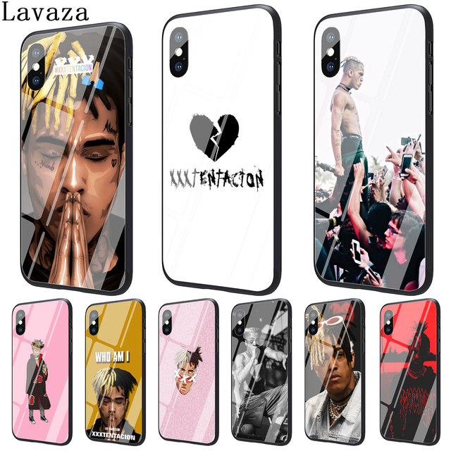 Lavaza RAP MCing XXXTentacion Tempered Glass Phone Cover Case for Apple iPhone XR XS Max X 8 7 6
