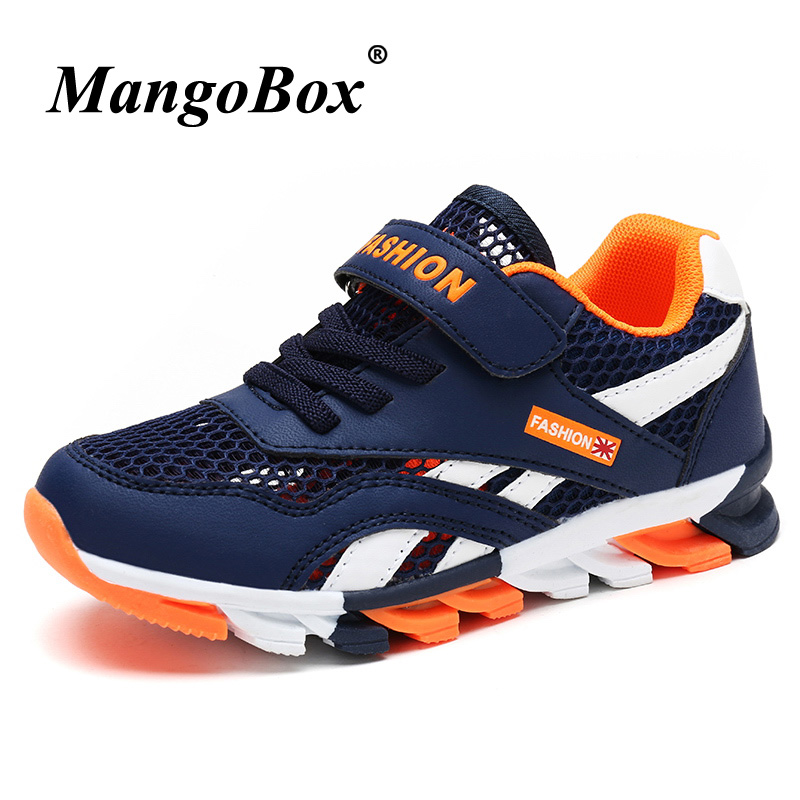 Summer 2018 Kids Shoes Boy Sneakers Luxury Boys Trainers Brand Children Sport Shoes Boys ...