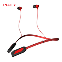 PLUFY P2 Sports Bluetooth Headset Wireless Running Neck Ear Headphones