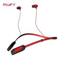 PLUFY P2 Sports Bluetooth Headset Wireless Running Neck Ear Headphones