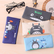 Cute Kawaii Fabric Pencil Bags For Boys Girls Lovely Cartoon Pencil Case Kids Gift Pencil Pouch Material Escolar School Supplies