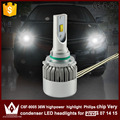 Night Lord 2pcs car led lamp with mute fan 9005 HB3 High BEAM Headlight C6F 6000K white for Previa 2007 2014 2015 only
