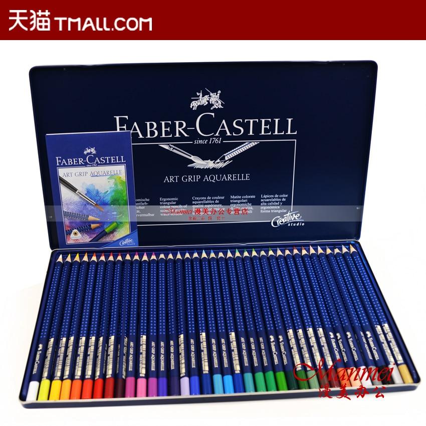 ФОТО Faber castell 12pcs&24pcs&36pcs water soluble colored pencils