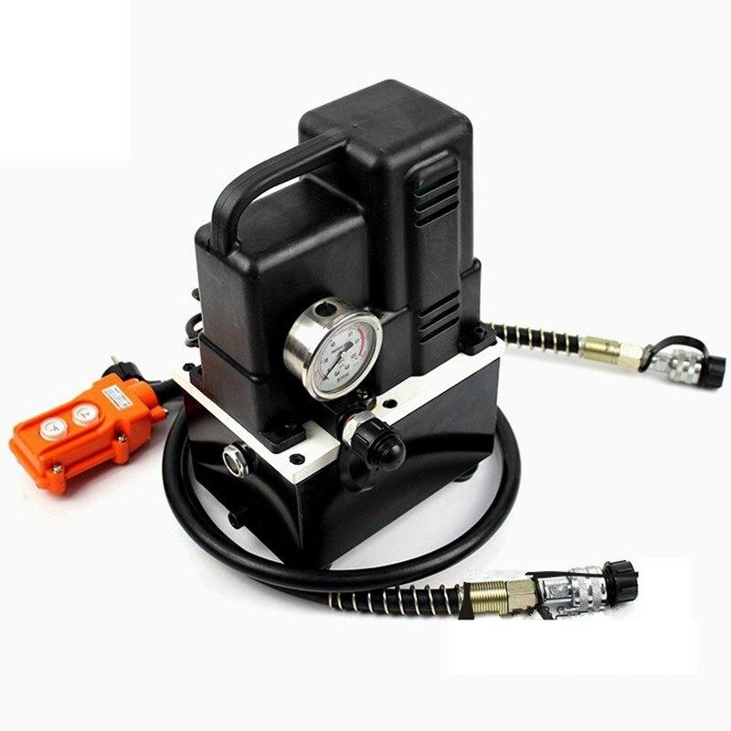 220 V 600 W Haute-tension électrique pompe manuel/pied interrupteur électrique hydraulique pompe Hydraulique Station CTE-70AS