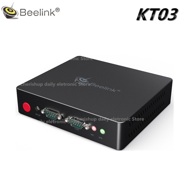 US $144 99 |Beelink KT03 TV Box Mini PC Client Computer Intel Apollo J3455  Quad Core Support Linux Expansion 4 XUSB 2 XHDMI-in Set-top Boxes from