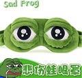 Pepe el Triste de la rana rana 3D Eye Mask Cubierta Rest Sleep Dormir Divertidos Anime Trajes de Cosplay Accesorios de Regalo