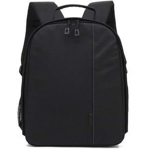 Image 5 - Waterproof Functional DSLR Backpack Camera Video Bag w/ Rain Cover SLR Tripod Case PE Padded for Photographer Canon Nikon