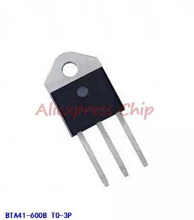1pcs/lot BTA41-600B BTA41600B BTA41 BTA41-600B Triacs 40 Amp 600 Volt TO-3P new original In Stock
