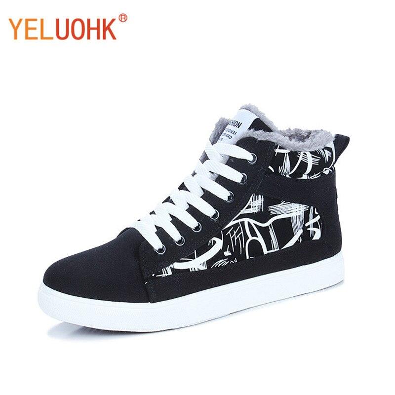 Зимняя обувь мужские кроссовки 9908 плюшевые теплые Мужские ботинки зимние модные зимние Кроссовки Для мужчин на платформе