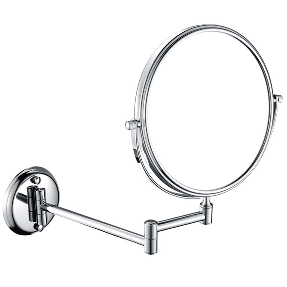 все цены на GURUN magnifying 5X 7X 10X Double side chrome makeup mirror foldable  6inch 8inch cosmetic vanity mirrors espelho blank compact