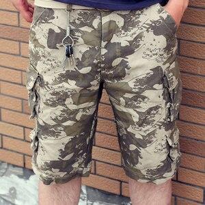 Image 3 - Pantaloni corti Designer Camouflage Pantaloni 2020 Nuovo Arrivo di Estate Mens Cargo Shorts, di cotone 11 Colori Taglia S M L XL XXL XXXL C888