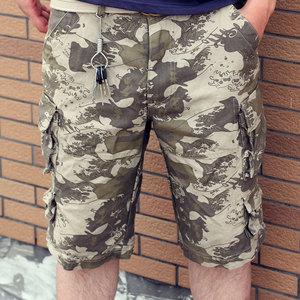 Image 3 - Short Pants Designer Camouflage Trousers 2020 Summer New Arrival Mens Cargo Shorts, Cotton 11 Colors Size S M L XL XXL XXXL C888