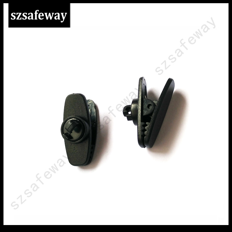 50pcs/lots Two Way Radio Earpiece Clips Replacement Two Way Radio Accessories Free Shipping