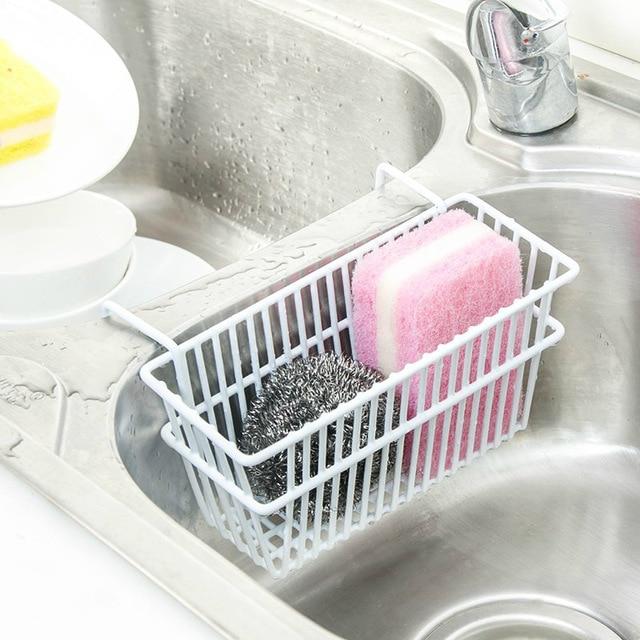MeyJig раковина губки сливной шкаф гладить корзина для хранения Кухня офисные Организатор инструмент Полотенца молния Тип полки книгу подвесные корзины