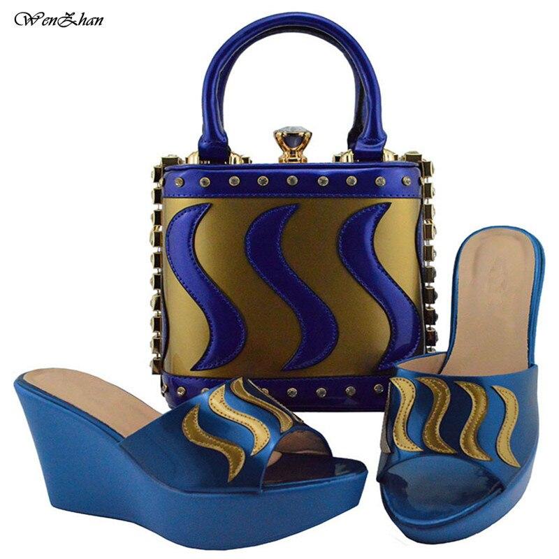 Neueste 38 B810 Tasche Und Frauen Set Party 23 Weiß Italienische Sandalen Schuhe Afrikanische 42 Mit Lila Passenden rqwrfZx