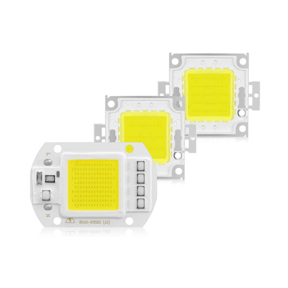 High Power LED COB lamp Beads 20W 30W 50W 100W 30V 220V LED Chip For DIY LED Spotlight Bulb Flood Light Source White/Warm White